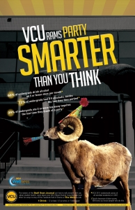 VCU Ram Poster-Party Smart